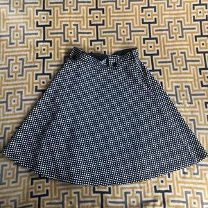 Eshakti Blue/White Square Aline Dress 10/Medium